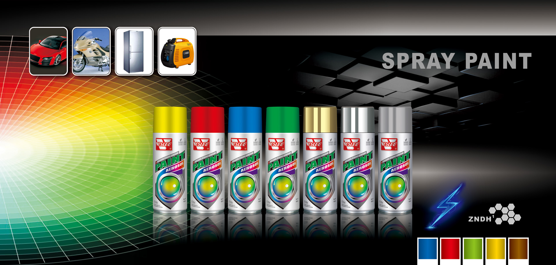 Spray Paint& Protection