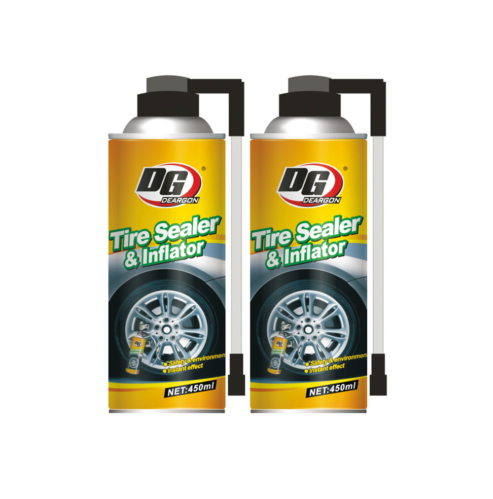 Tire Sealer and Inflator 450ml DG-45