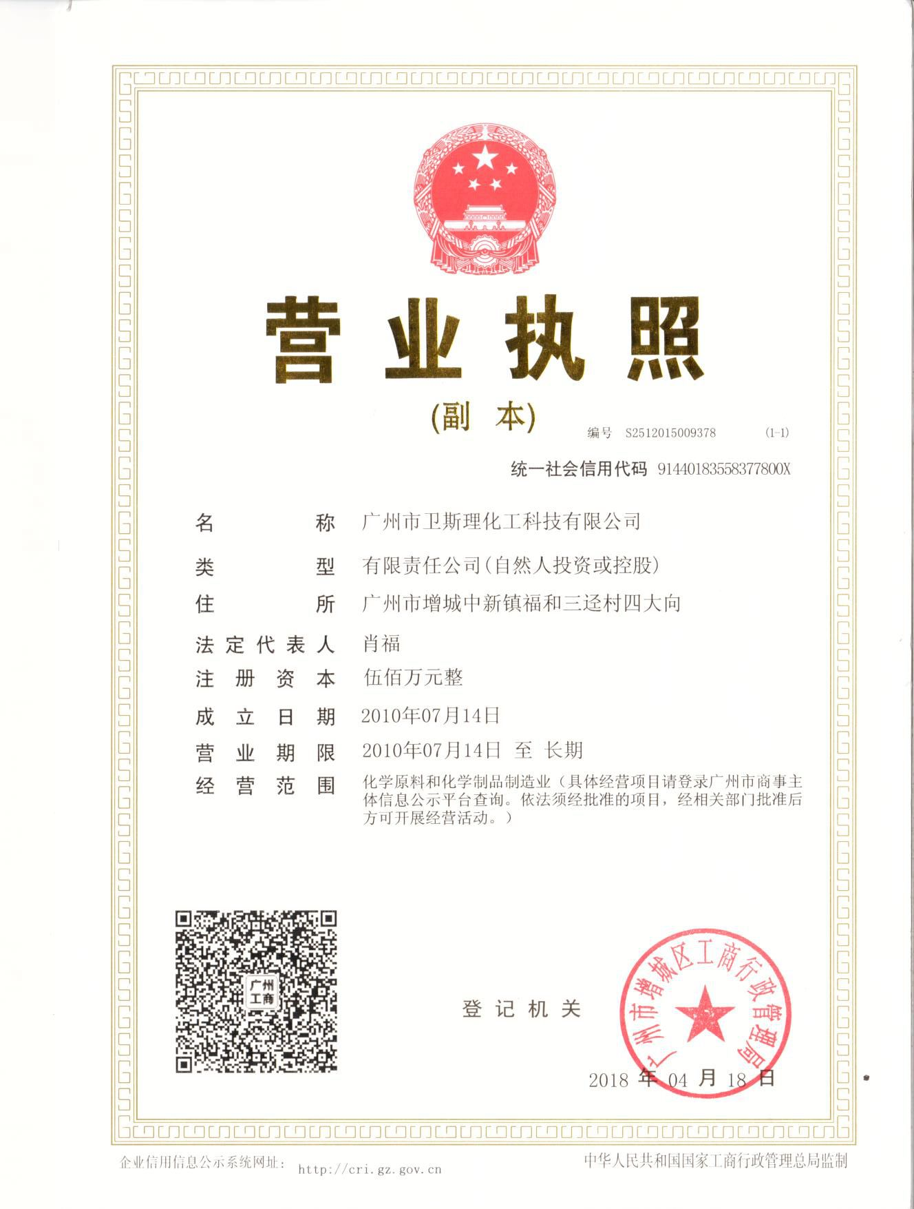 Care care products business licence